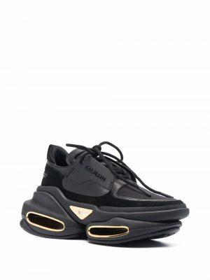 Balmain low-top sneakers black