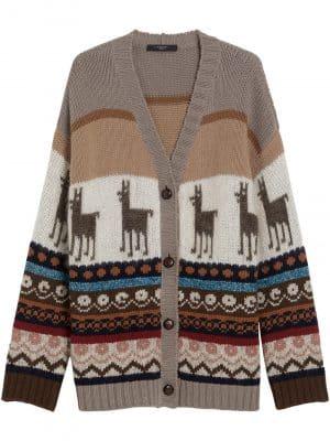 Maxmara Weekend DISTEL wool and mohaircardigan