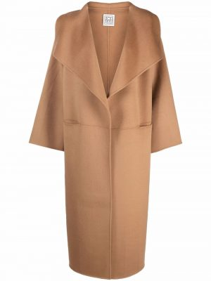 Toteme 21FW 211 110 717 835 wool cashmere coat camel