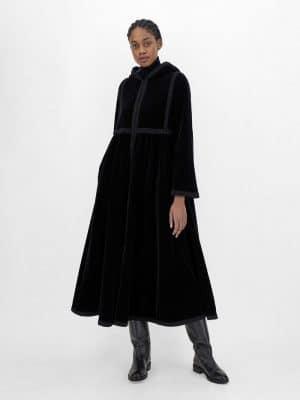 MaxMara Weekend NETTARE cotton velvetcoat