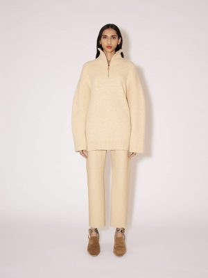 Nanushka Zuma half-zip fleece