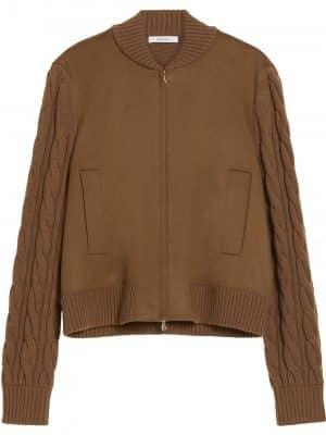 Maxmara Magenta bomber jacket