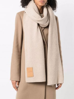 Joseph rib-knit scarf