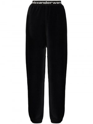 Alexander Wang logo-tape track trousers