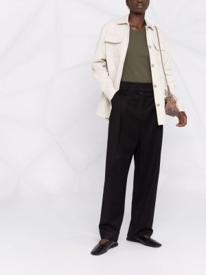 Toteme deep pleated trousers