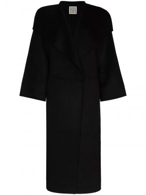 Toteme single-breasted wool-blend coat