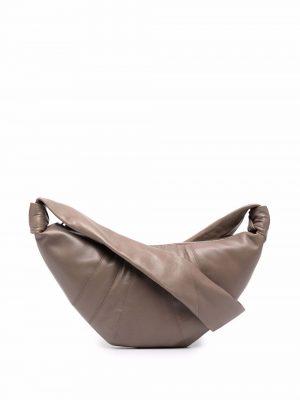 Lemaire Croissant leather crossbody bag