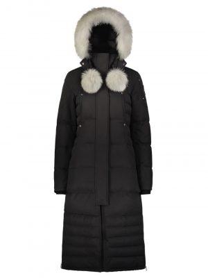 Moose Knuckles Saskatchewan parka Black Fur Natural