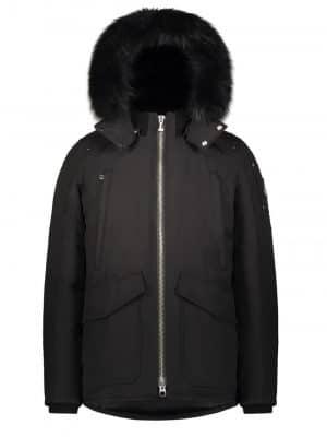 Moose Knuckles Pearson jacketBlack Fur Black