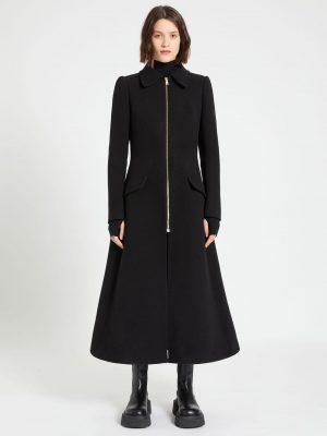 Sportmax COLETT zipped frock coat