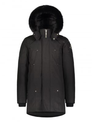 Moose Knuckles Stirlingparka Black Fur Black