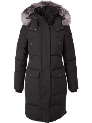 Moose Knuckles Causapscal parka Black Fur Frost