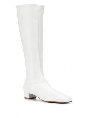 By Far 21FW 20PFEDIDWHNAP Edie Nappa Knee High Boots White
