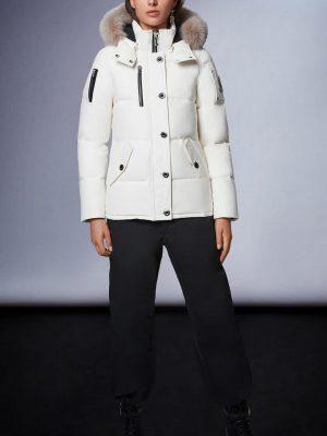 Moose Knuckles 3Q jacket Milky Way Fur Stoned